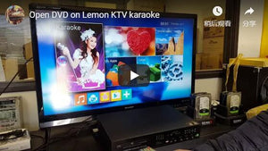 Open DVD on Lemon KTV karaoke (User Show)
