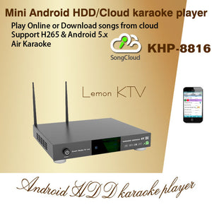 KHP-8816 mini cloud karaoke player