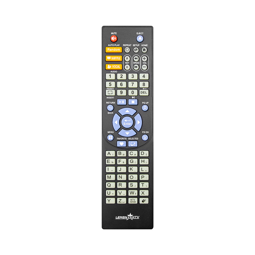 Big Remote Control for 8832/8837/8856/8866/8816 lemon KTV system(76keys)