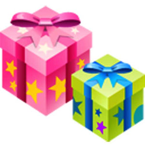 Color gift box for 8832