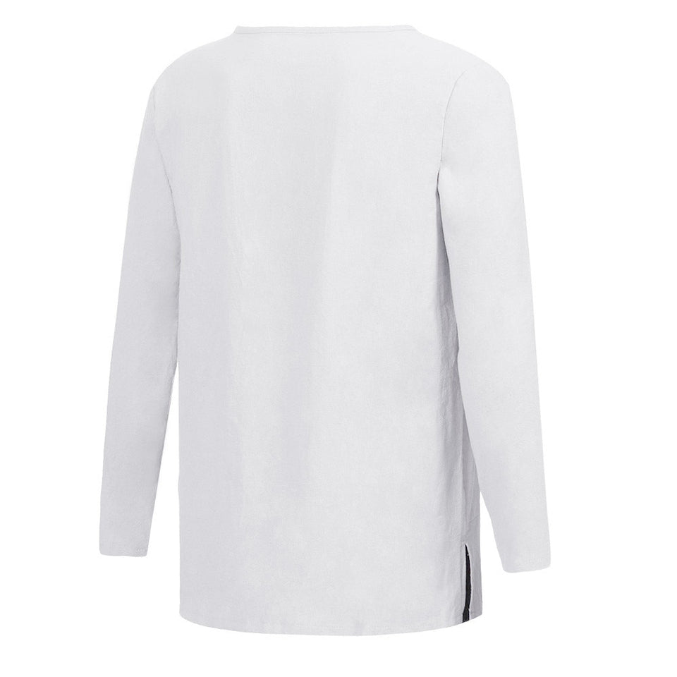 Long Sleeve Slim Fit Shirt - Blunt Script