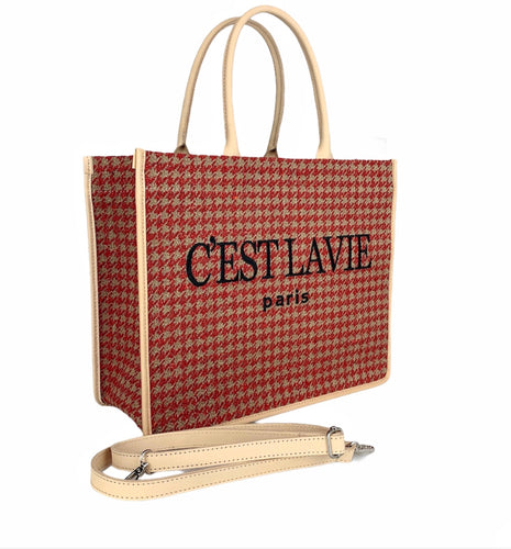 Maxi shopper C'EST LAVIE