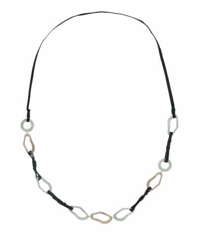 Uneven Oval Necklace