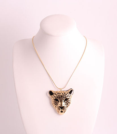 Chain with Panther Pendant Necklace