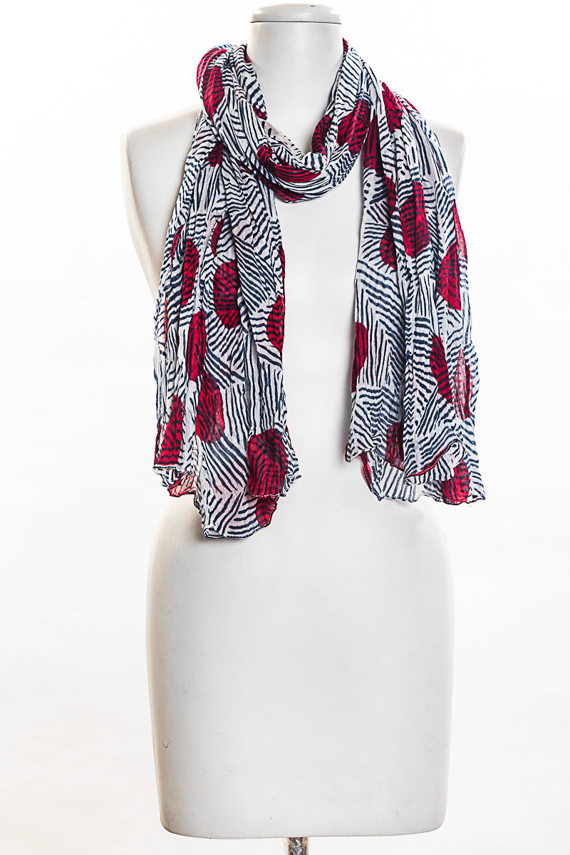 Triangles With Dots Scarf (SE-1343)