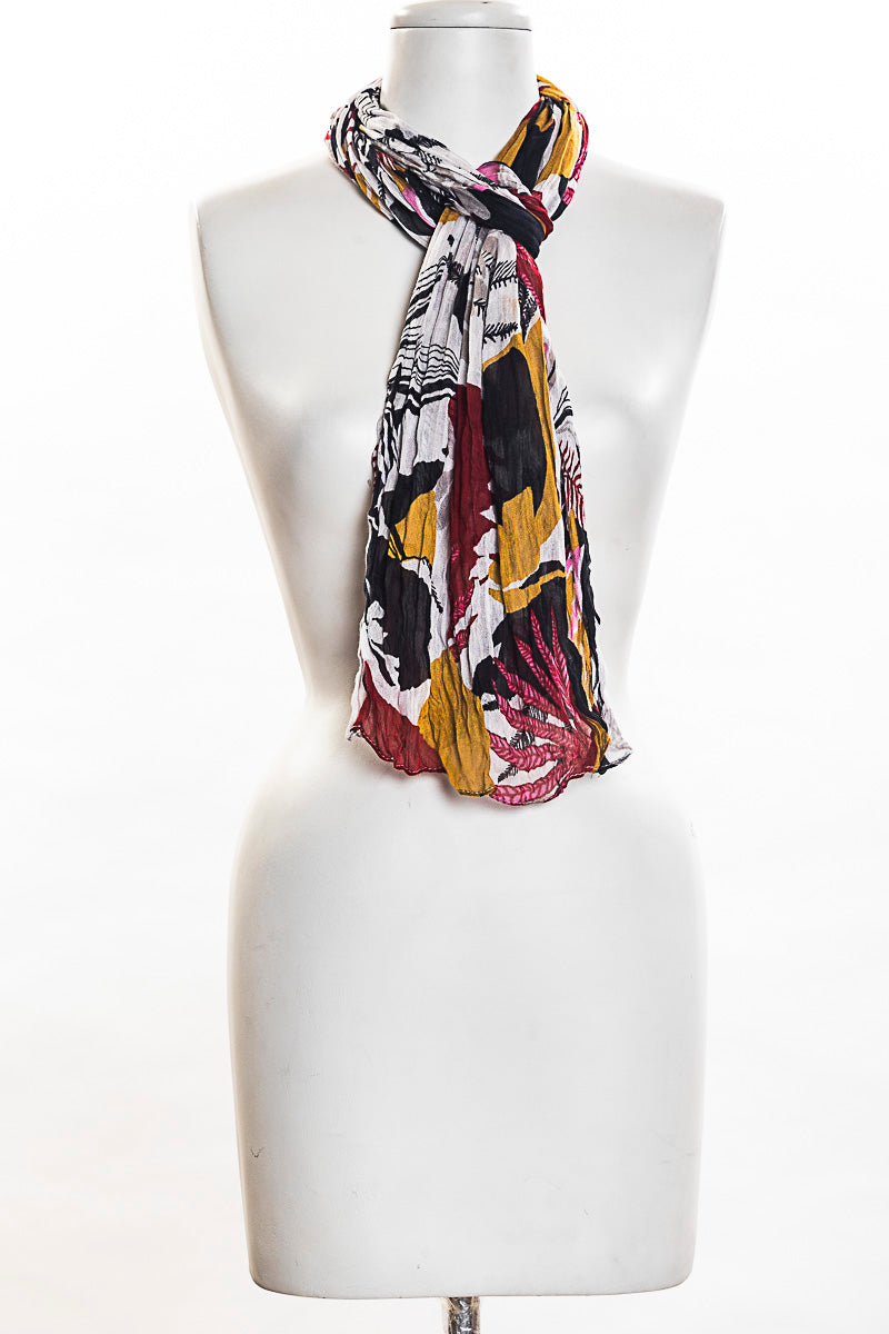 Tropic Patch Scarf (SE-1370)