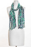Wavy Stripes Scarf (SE-1353)