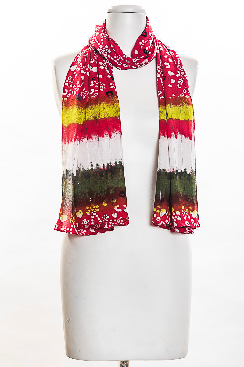 Buti With Tie Dye Look Scarf (SE-1338)
