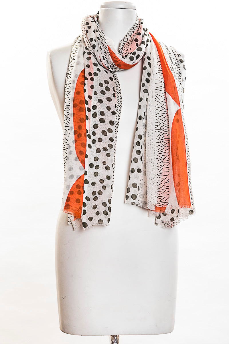 Pop Of Color Scarf (SE-1377)