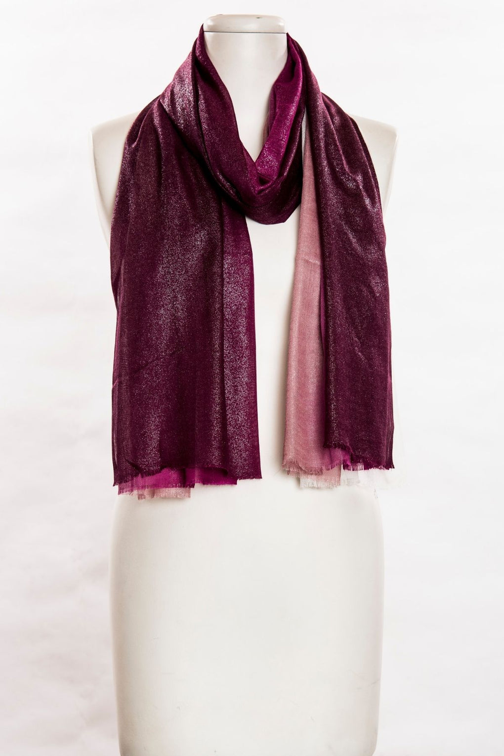 Shaded With Shimmer Scarf (SE-611)