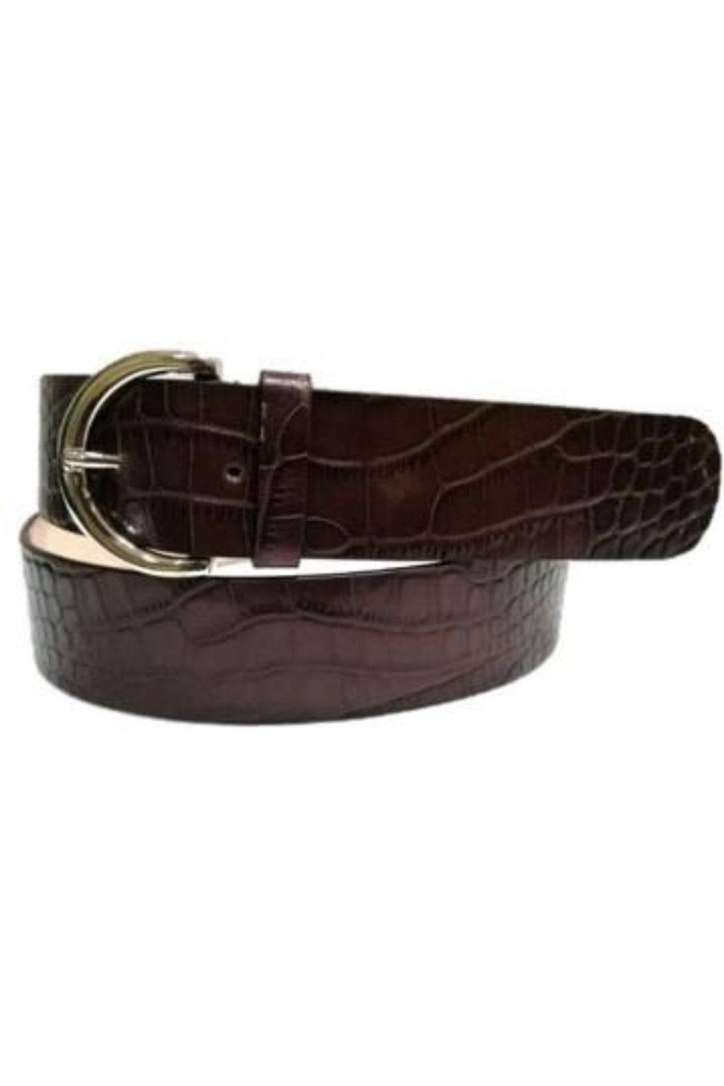 Crocodile Skin Leather Belt  (SE-1652)