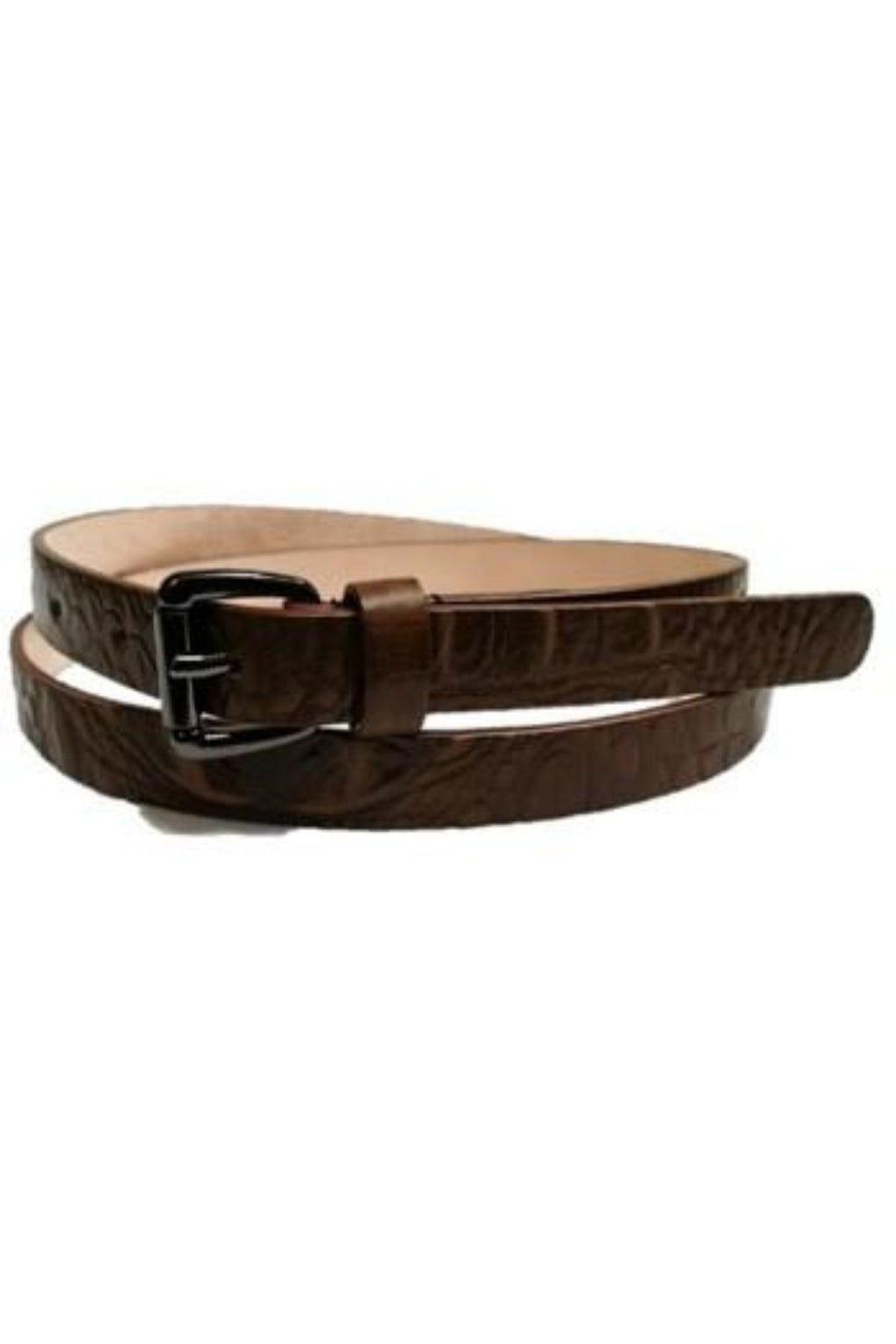 Petite Crocodile Skin Leather Belt (SE-1653)