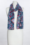 Flowers On Tiles Scarf (SE-1037)