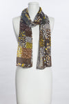 Patch Square Print Scarf (SE-1062)