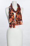 Splashed Flowers Scarf (SE-1069)