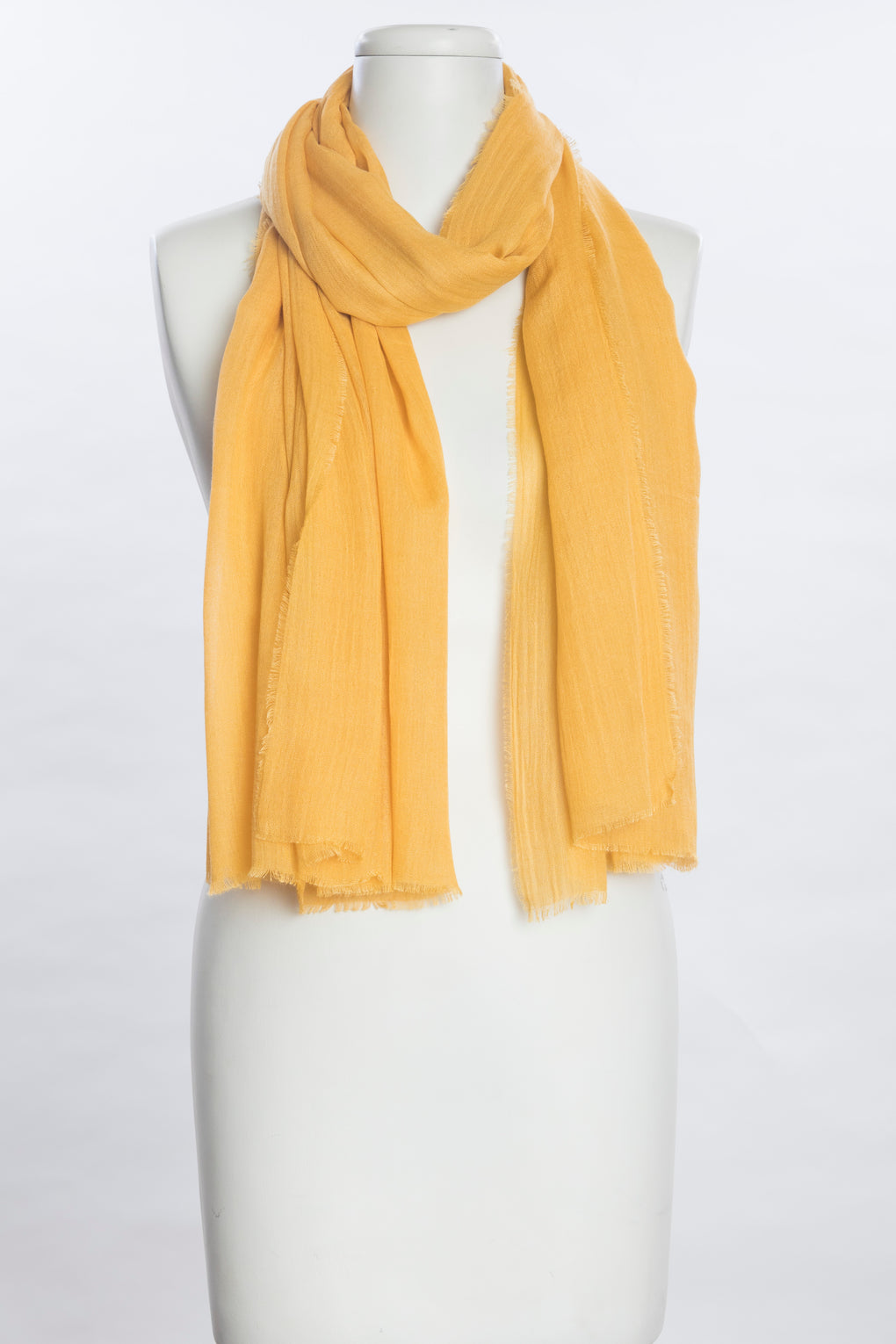 Solid Dyed Wool Blend Scarf (SE-1079)