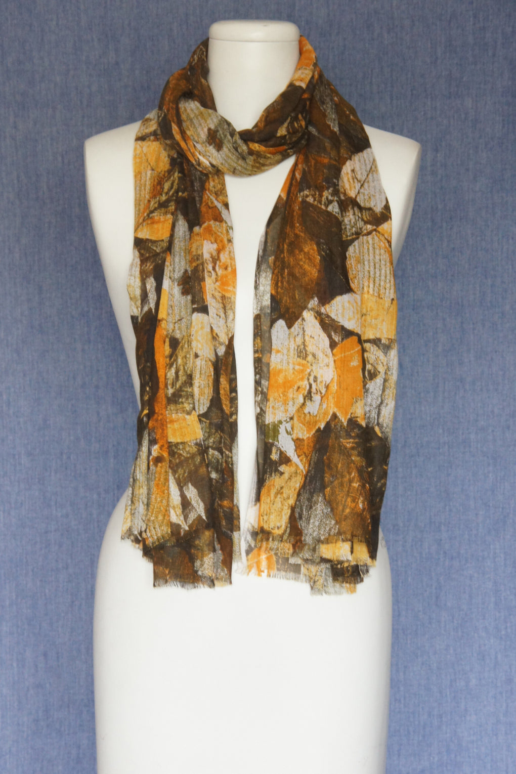 Colorful Leaves Scarf (SE-1593)