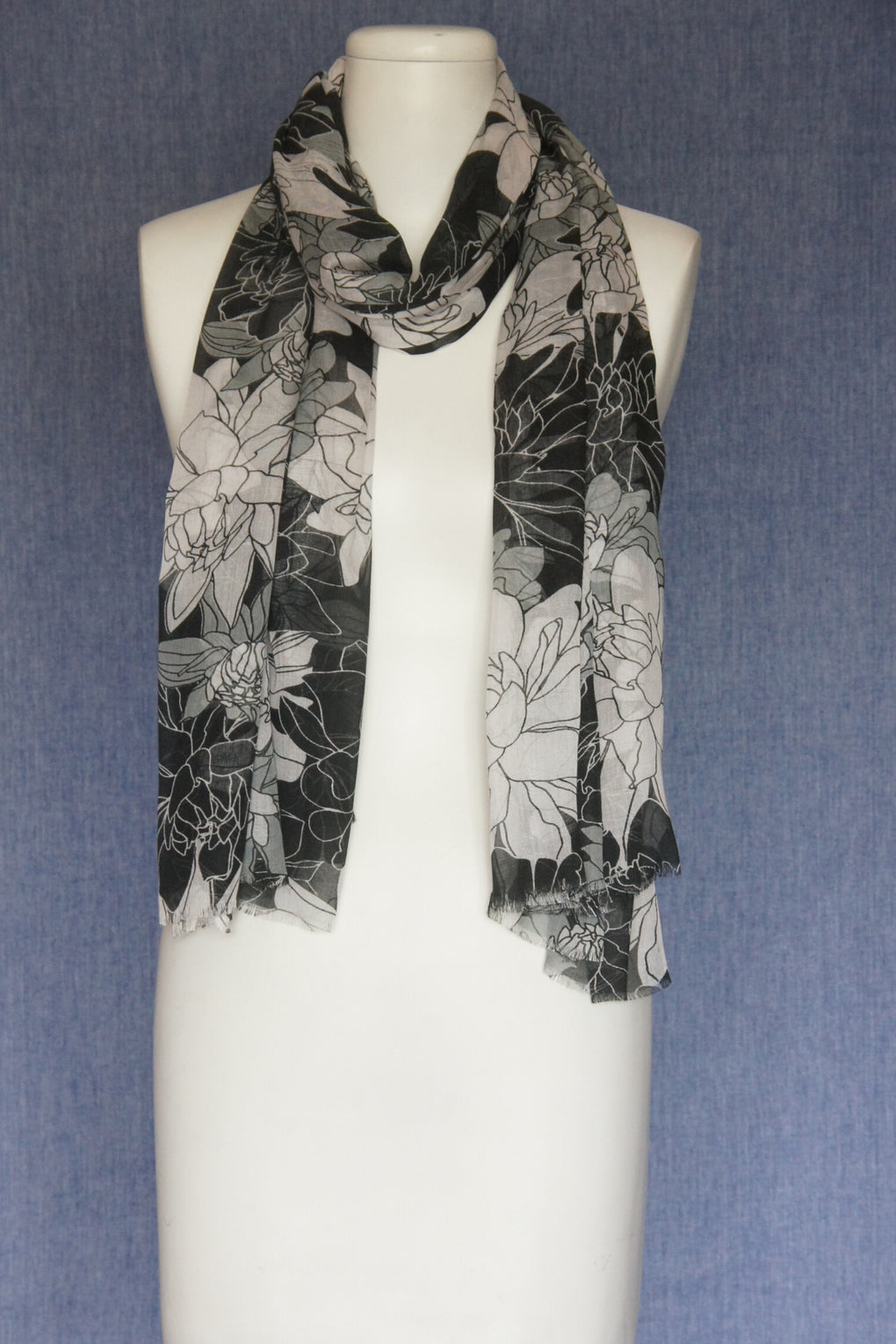 Open Flower Scarf (SE-1596)