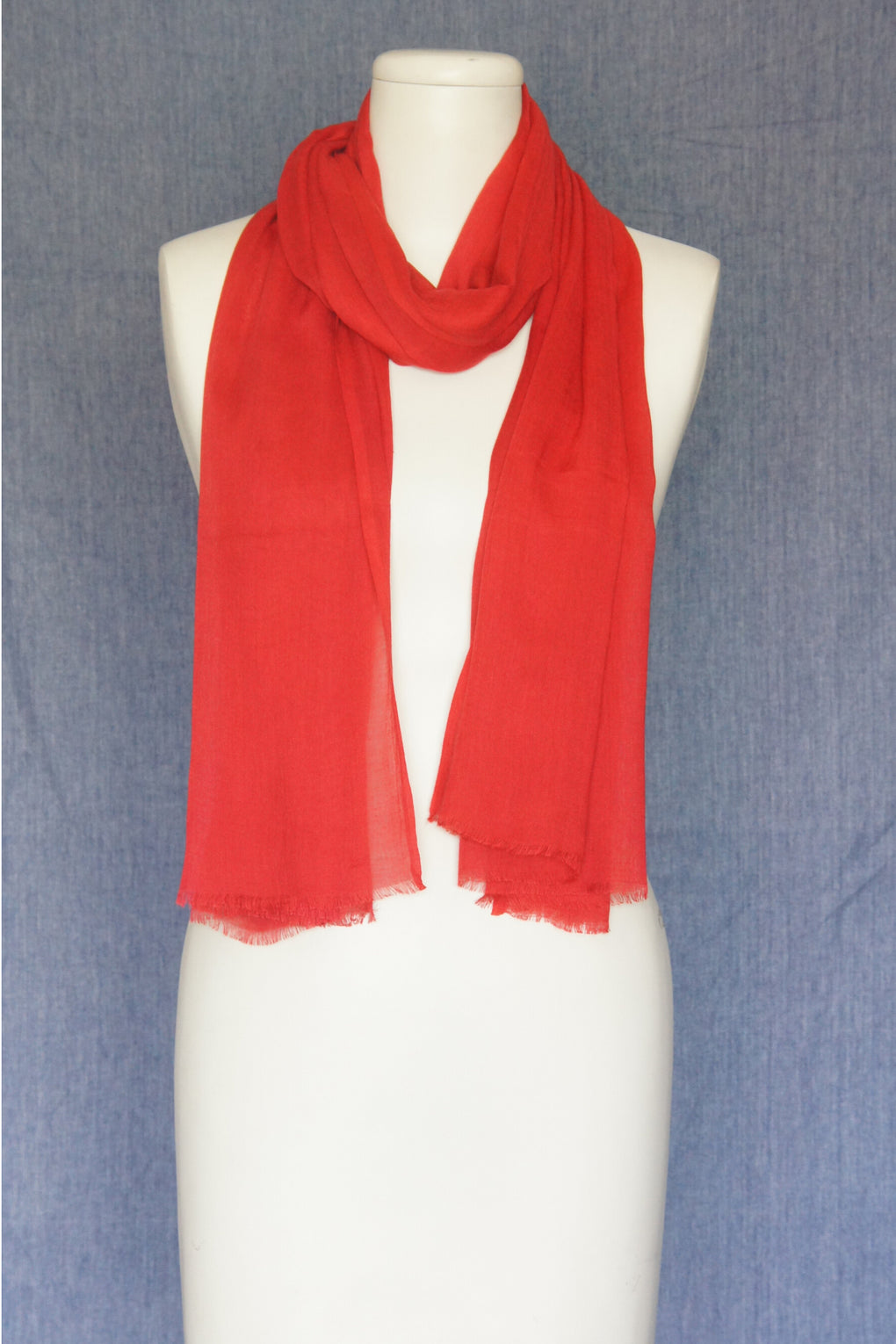 Vibrant Solid Color Scarf (SE-1615)