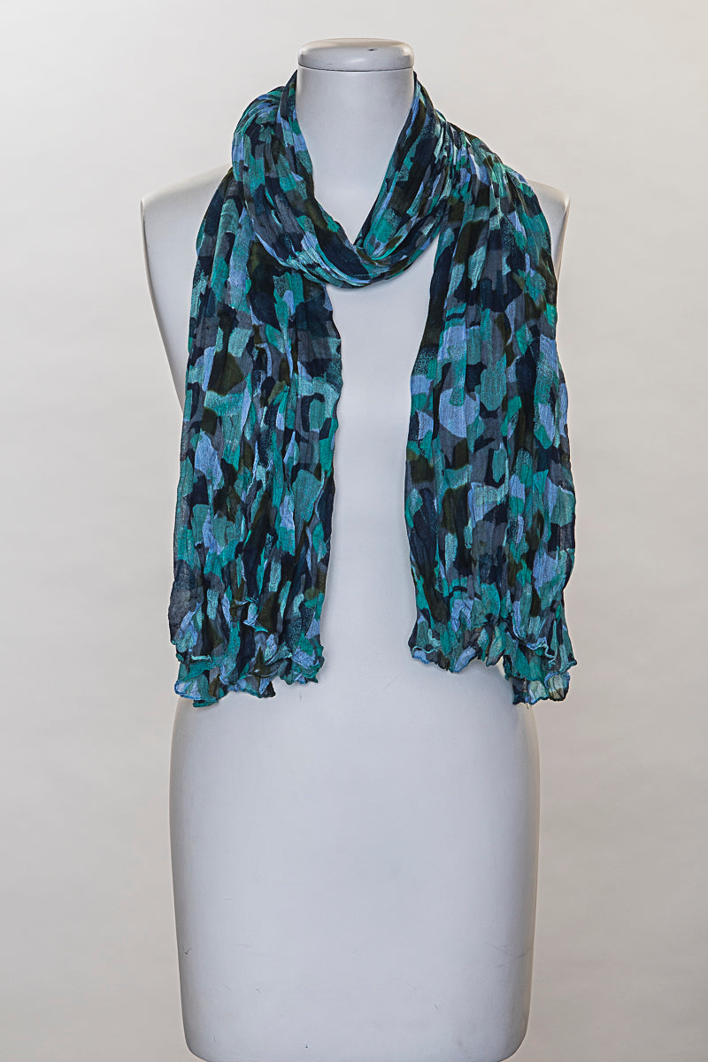 Geometric Elbow Scarf (SE-883)