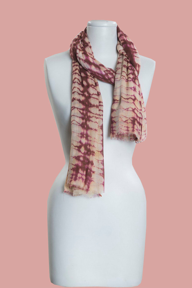 Tie and Dye Scarf (SE-9859)