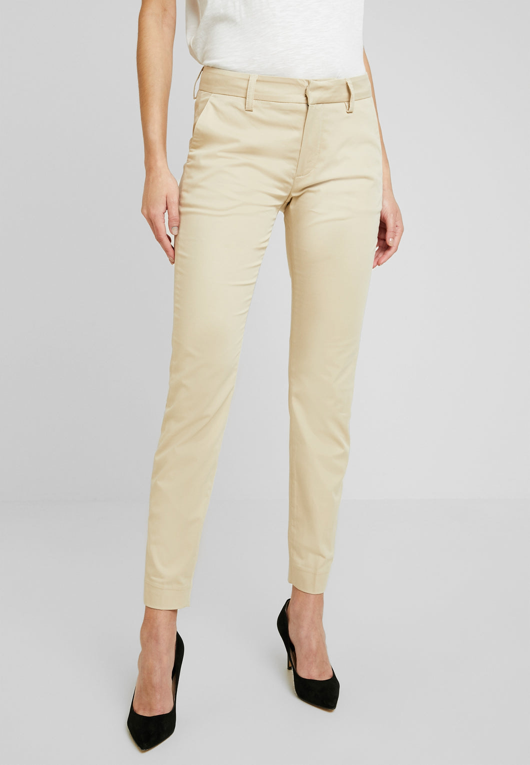 ABBEY COLE ANKLE PANT - safari