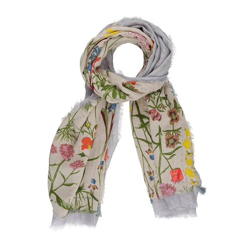 BOTANIC PATCH SCARF