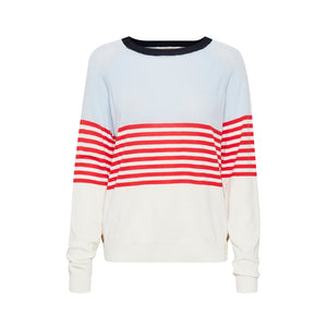 MIMI STRIPED PULLOVER