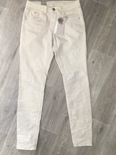 LOTTE CREAM CHINOS