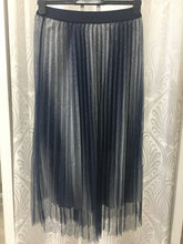 UREGINE SPARKLE PLEATED SKIRT