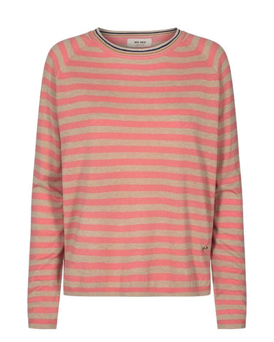 WYN STRIPE KNIT - sugar coral