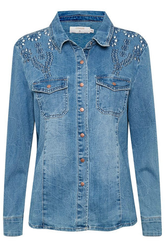 YILLA CR DENIM SHIRT