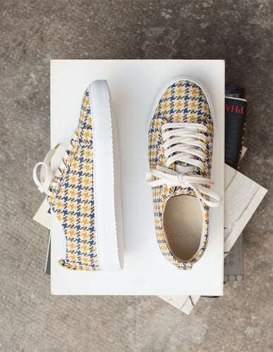 BRIDGETTE CHECKERED SNEAKER