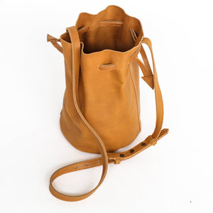 EDEN LEATHER BUCKET BAG