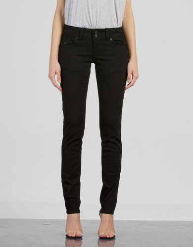 MOLLY STRETCH JEANS - black