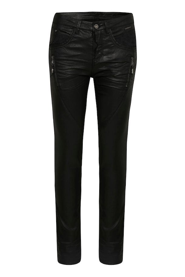 ANNALENNE PITCH BLACK JEANS