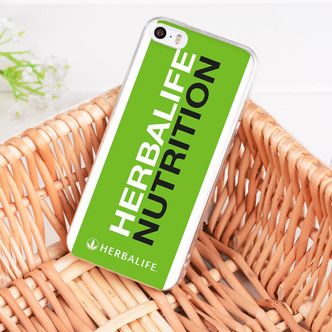 Herbalife Transparent Phone Cover Case For iPhone
