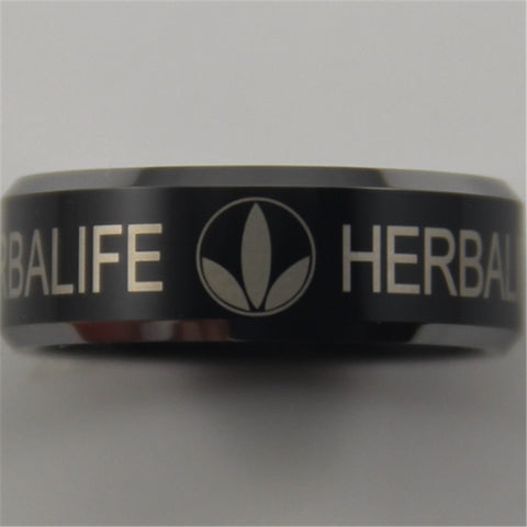 Herbalife Ring for Men / Women (JEWELRY) Tungsten Comfort Fit Ring