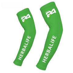 Full Sleeves Silicone Elastic Herbalife Printed Armbands for Men and Women