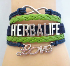 Infinity Love Herbalife Handmade friendship wristband
