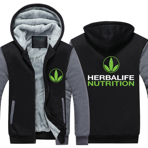 Herbalife Nutrition Printed Thicken and warm Hoodie for  Men and Women