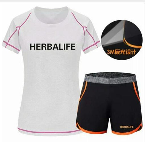 Herbalife T-shirt and Shorts for Women