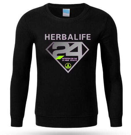 Supermen Herbalife 24 Long sleeve Jerseys for Men