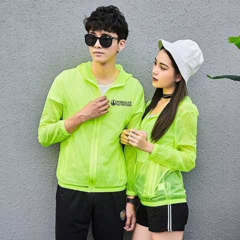 Unisex Herbalife Nutrition Raincoat