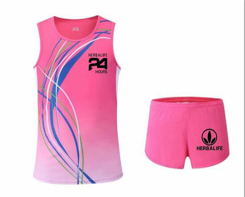 Unisex Herbalife 24 Yoga and Cycling T-Shirt & Shorts