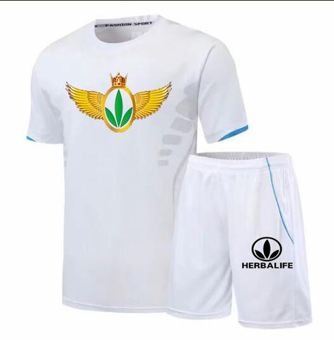 Herbalife King Printed T-Shirt & Shorts