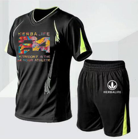 Herbalife T-Shirt and Shorts Jersey for Men