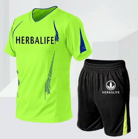 Herbalife T-Shirt & Shorts Set for Men
