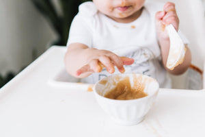 Apple and cinnamon baby food