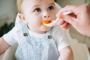 Carrot and ginger baby food